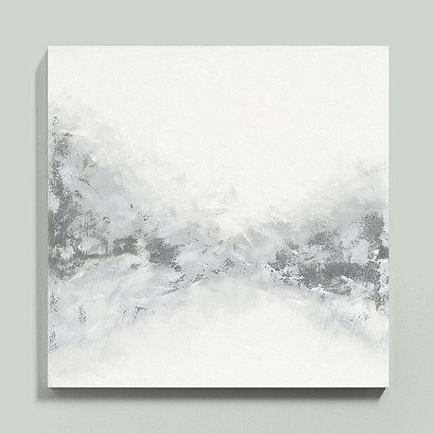 Gray and White Abstract Art