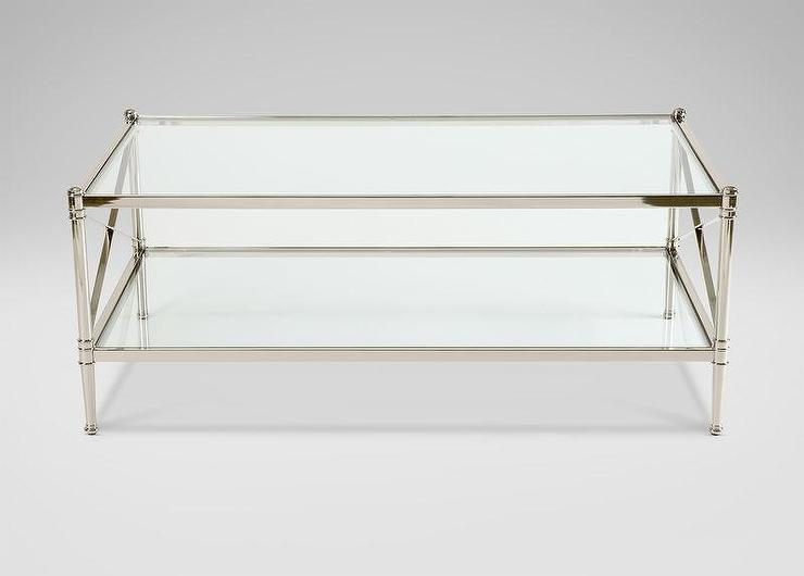 Ikea White Metal Bed Frame Brass And Smoke Glass Coffee Table