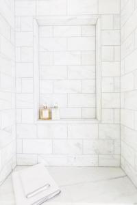 Marble Shower Niche Design Ideas