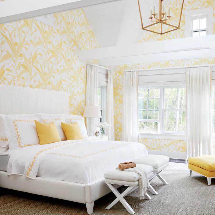 Yellow Bedroom Design Ideas