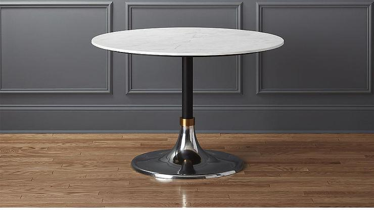Ikea Coffee Table White Top And Black Base Square Pedestal Table