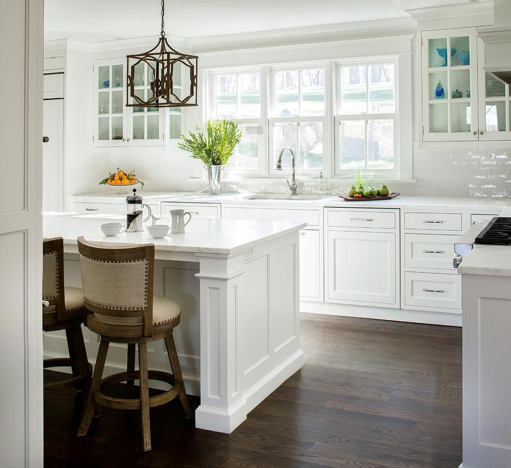 white glazed brick kitchen backsplash tiles transitional kitchen white kitchen cabinet glass metal backsplash tile backsplash