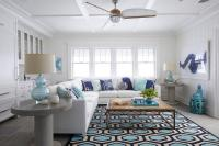 Navy Blue Living Room Rug