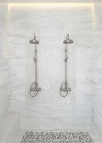 Large Tile Shower Wall | Tile Design Ideas