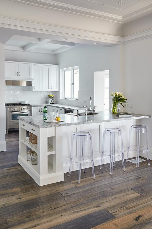 Movable Kitchen Islands With Stools Kitchen Peninsula With Charles Ghost Bar Stools