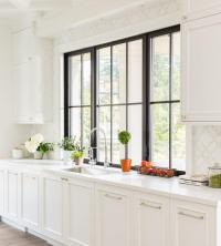 Black Framed Windows Design Ideas
