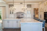 White Kitchen Cabinets with Oil Rubbed Bronze Hardware ...