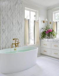 Bathroom Accent Wall Design Ideas