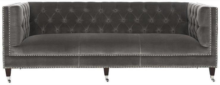 Chesterfield Sectional Sofa Simone Bella White Tufted Sofa