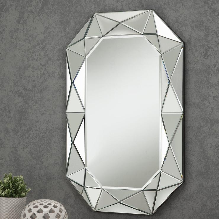 Beveled Mirror Designs Diamond Mirror Wall Mirrors Wall Decor Home Decor