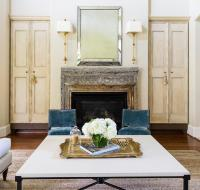 Open Living Room - Transitional - living room - Sally ...