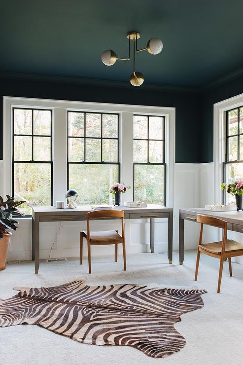 Black Keys Wallpaper Black Work Space Ceiling With Gray Shagreen Desk