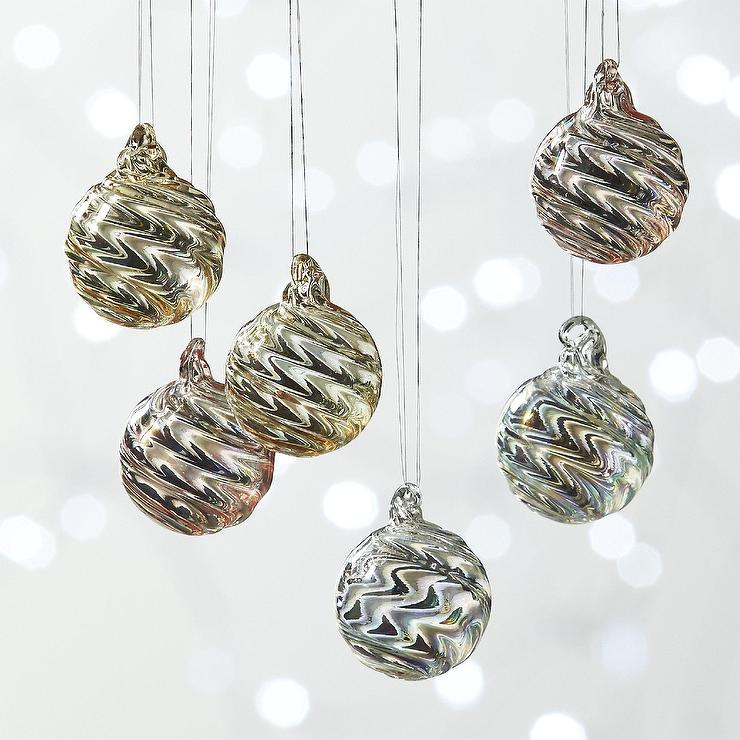cb2 christmas ornaments