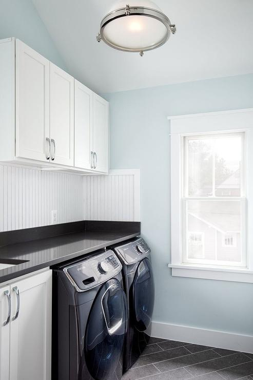 Light Gray Paint Laundry Room Design, Decor, Photos, Pictures, Ideas