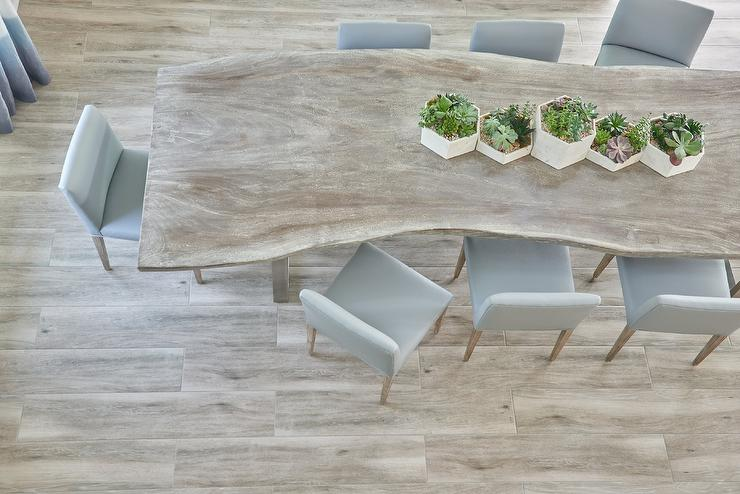 Taupe Dining Chairs Transitional Dining Room