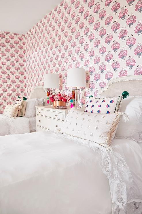 Ikea Beds Shared Girl's Room - Transitional - Girl's Room - Munger