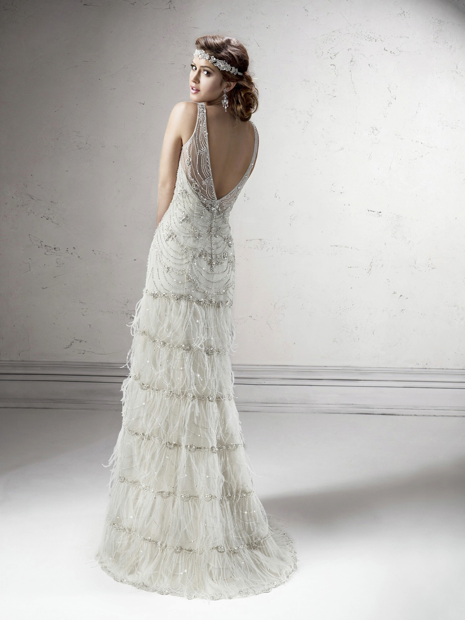 gatsby wedding gown shauna by sottero midgley 20s style wedding dress