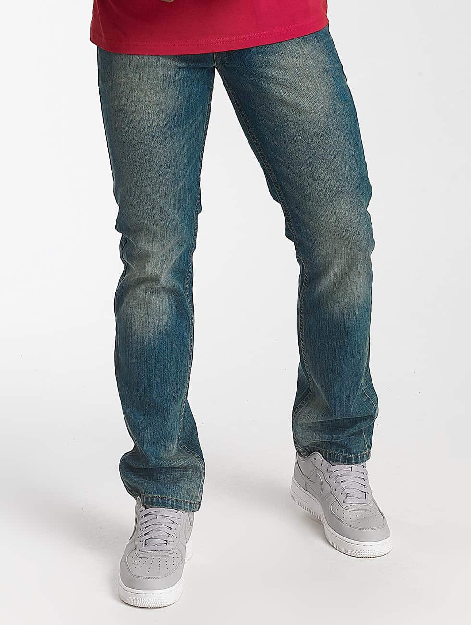 Jeans Coupe Droite Rocawear Relax Fit Jeans Light Mid Blue