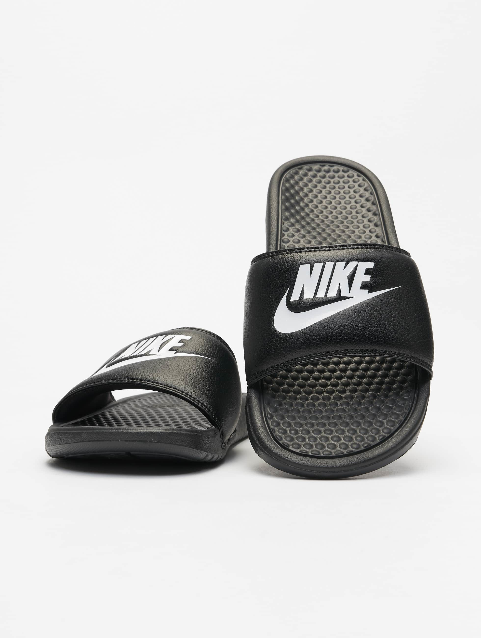 Adidas Slippers Heren Nike | Benassi Jdi Noir Homme Claquettes & Sandales 256902