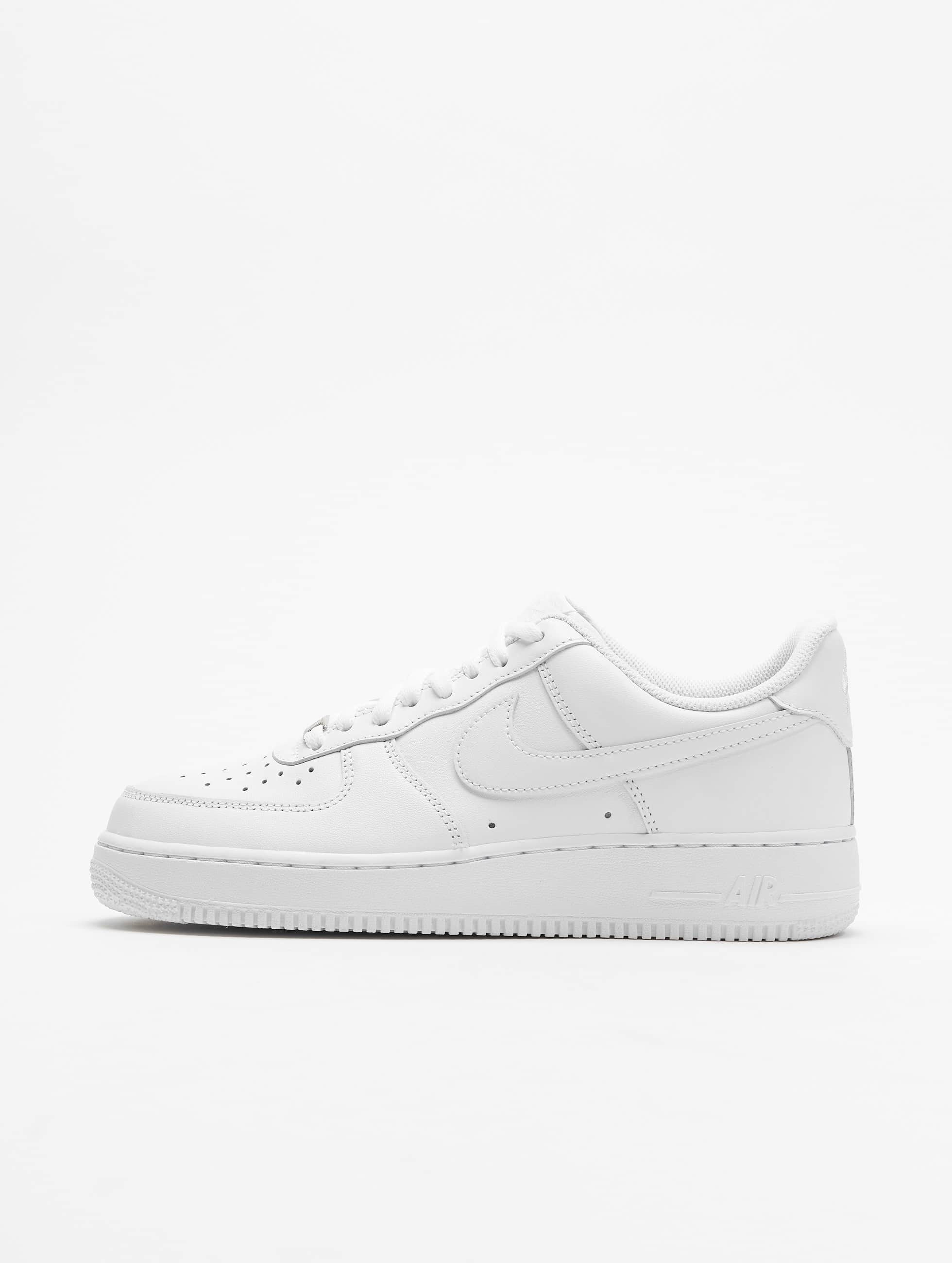 Sneaker Weiß Nike Air Force 1 07 Basketball Shoes White White