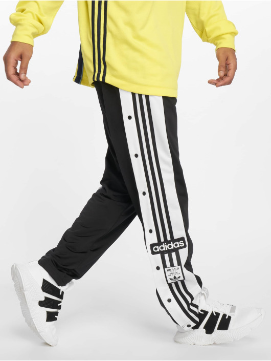 Stylische Jogginghose Adidas Originals Herren Jogginghose Snap In Schwarz 543772