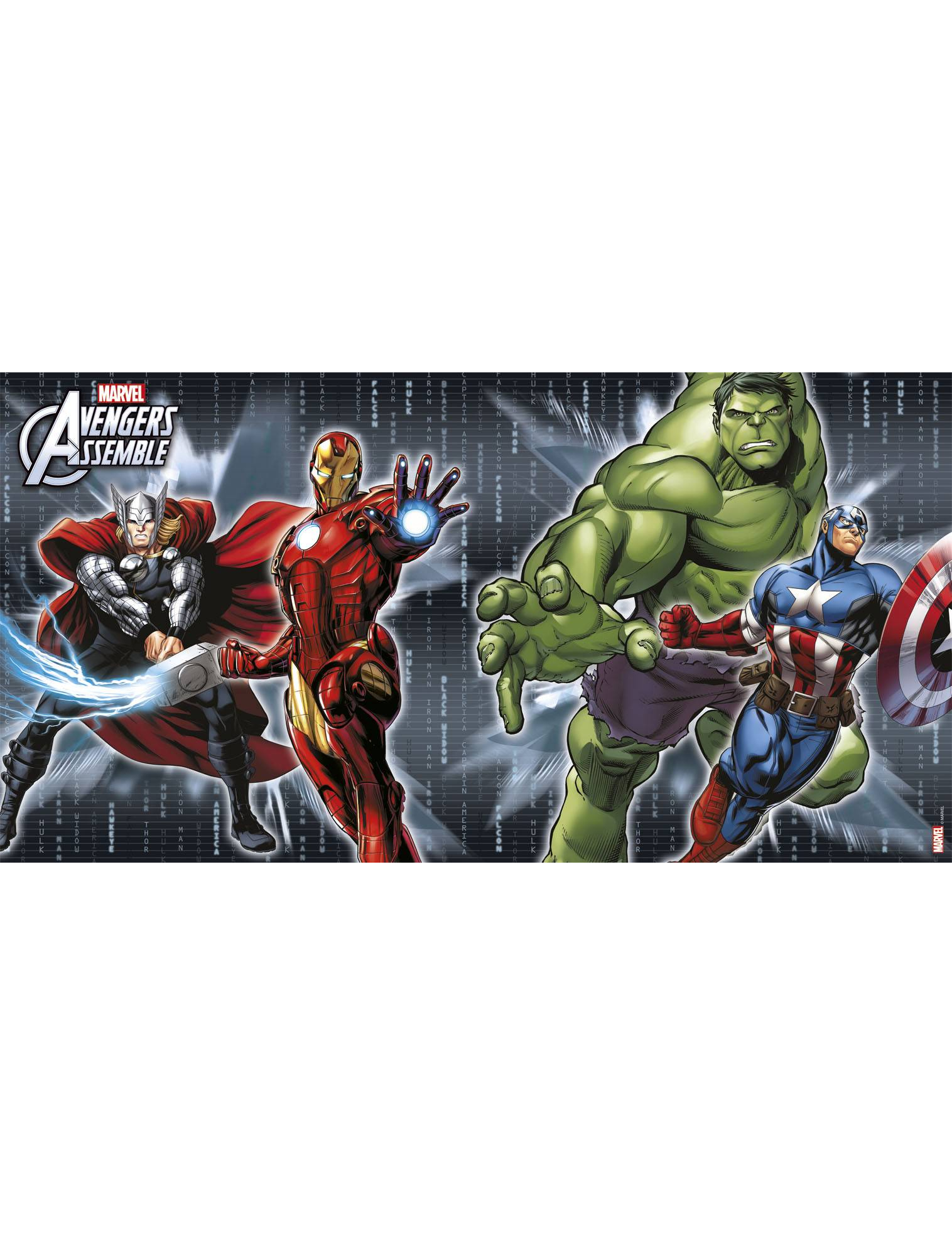 Avengers Assemble Wallpaper Hd D 233 Coration Murale Avengers