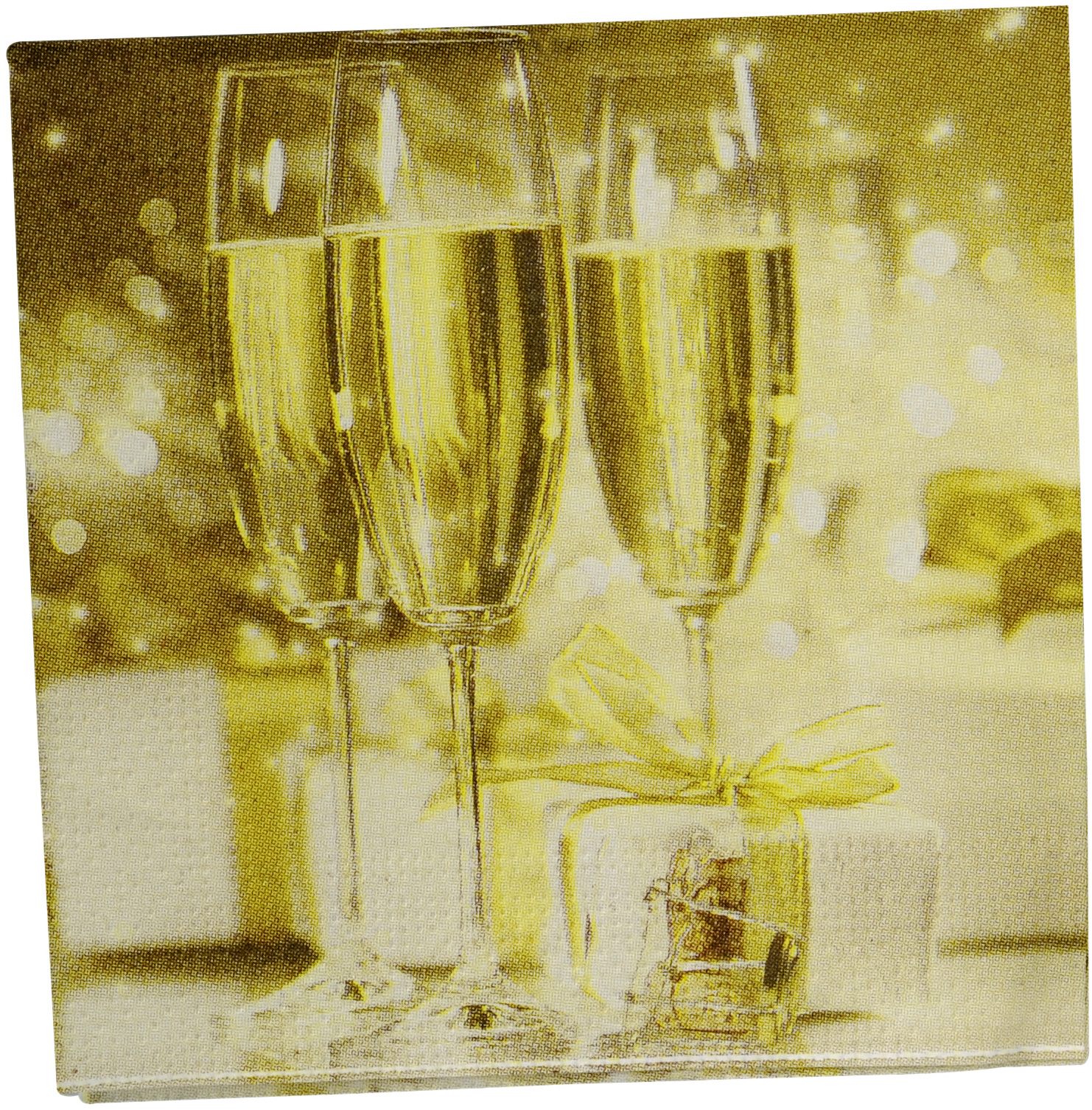 Decoration Coupe De Champagne Pin 20 Champagne Glasses Napkins Vegaoo Decorations On