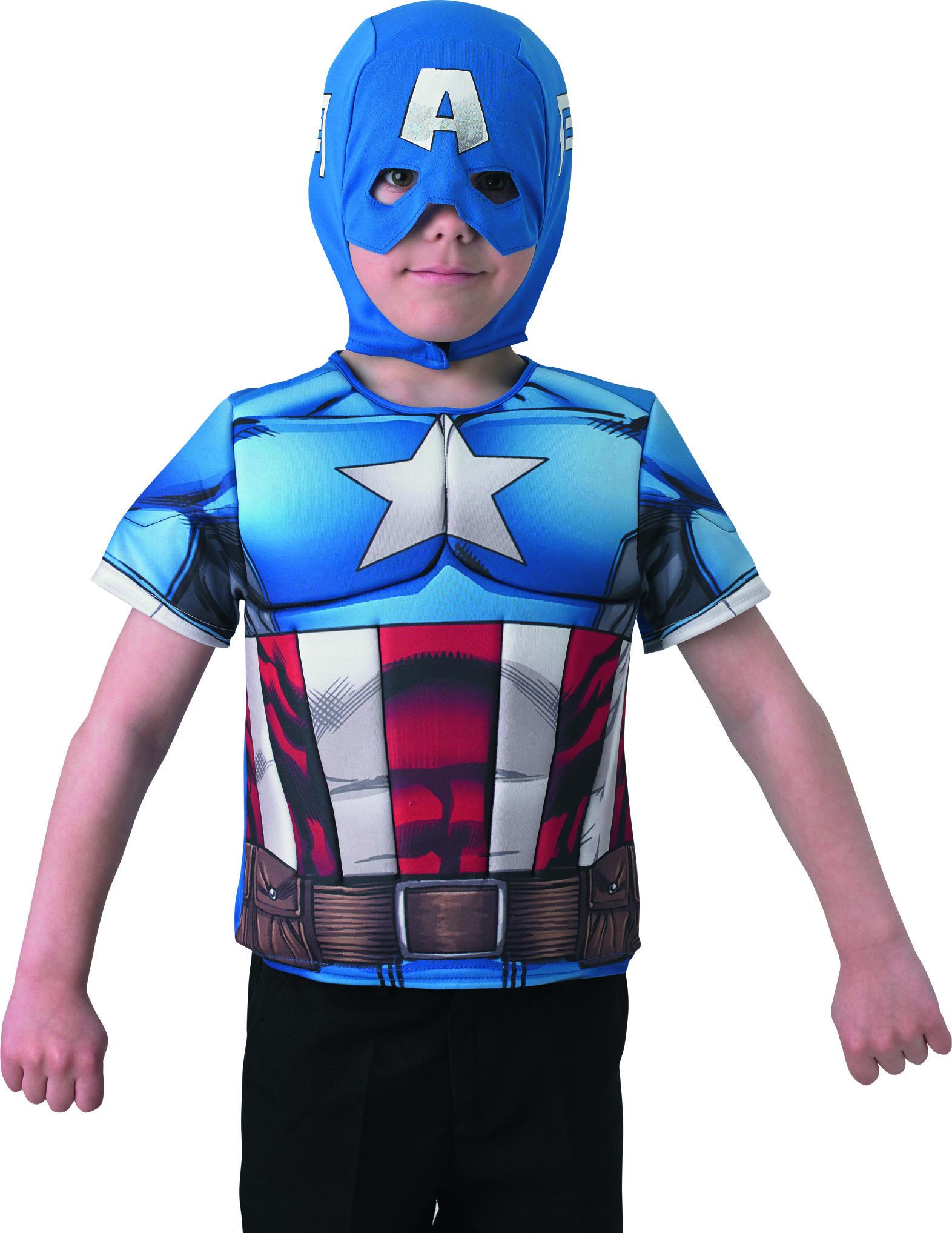 Enfants Plastron Captain America Winter Sol R Enfant