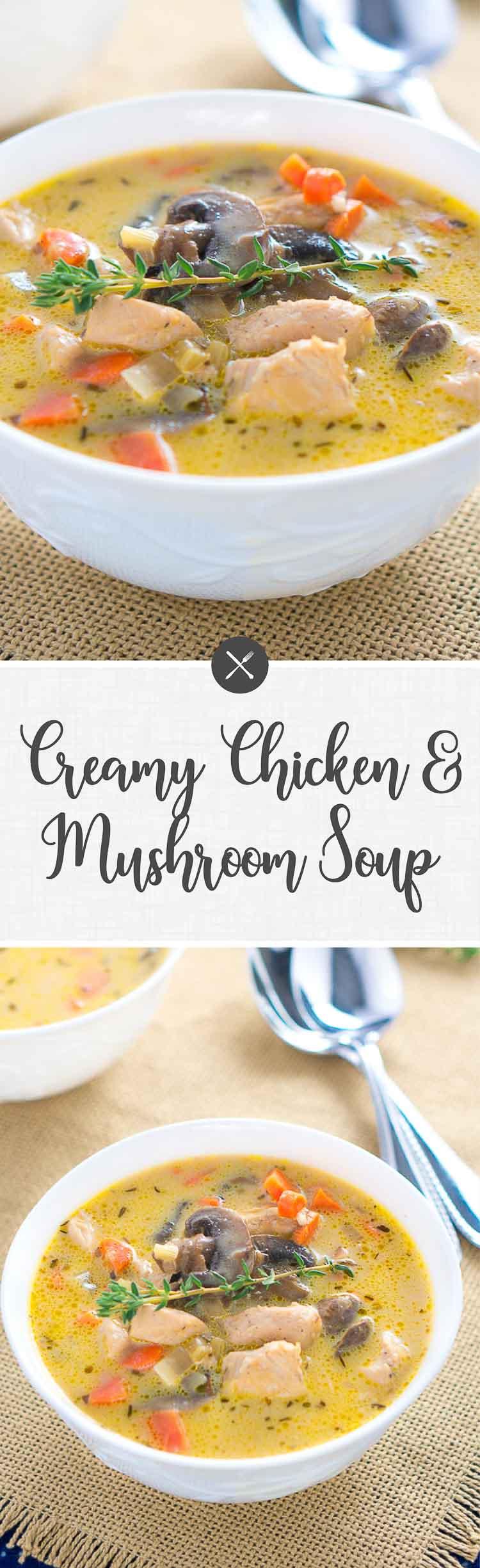 Fullsize Of Chicken And Mushroom Soup