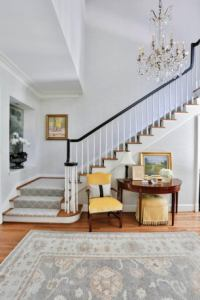 Chic Carpeted Stair Designs - Inspiration - Dering Hall