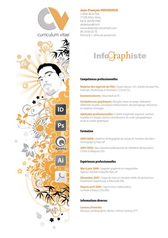 54 Impressive and Well-Designed Resume Examples For Inspiration - resume design inspiration