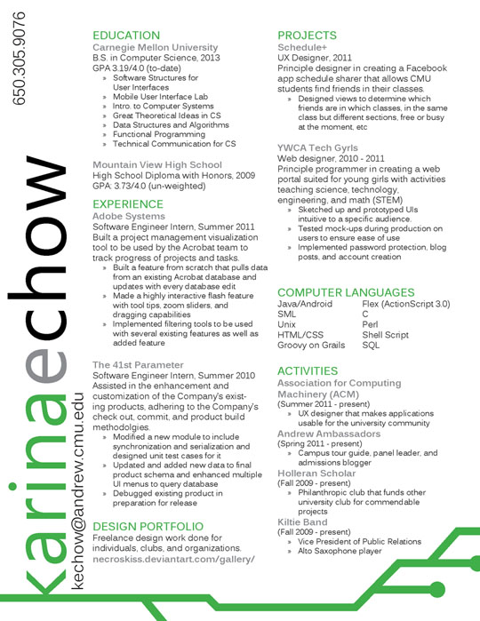 design resume auf deutsch - Ecosia