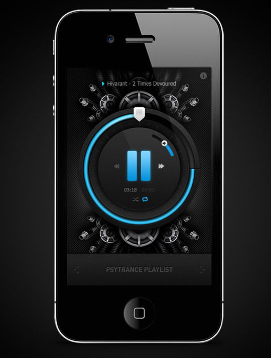 Hue Philips App 26 New Attractive User Interface Designs For Iphone Apps