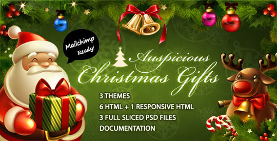 Christmas email templates Designbeep - template for christmas