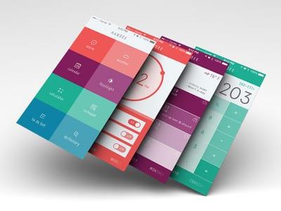 25+ Flat Design Inspiration for Designers -DesignBump