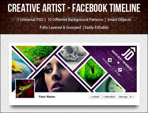 40+ PSD Facebook Timeline Covers You\u0027ll Love -DesignBump