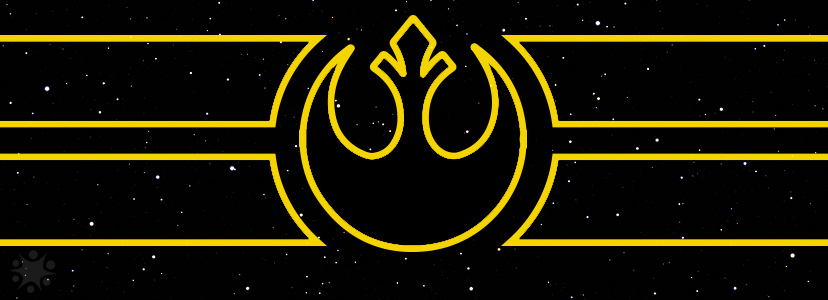 20 Out-of-this-World Logos from the Star Wars Universe