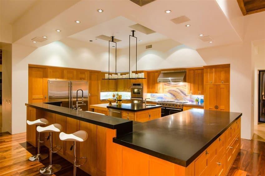 kitchen designs natural wood cabinets designing idea solid oak kitchen island kitchen design modern kitchen