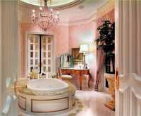 27 Gorgeous Bathroom Chandelier Ideas - Designing Idea