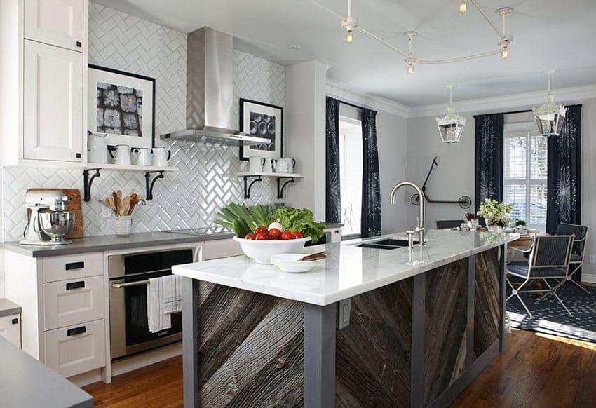 Old Barn Wood Kitchen Island 23 Reclaimed Wood Kitchen Islands (pictures) - Designing Idea