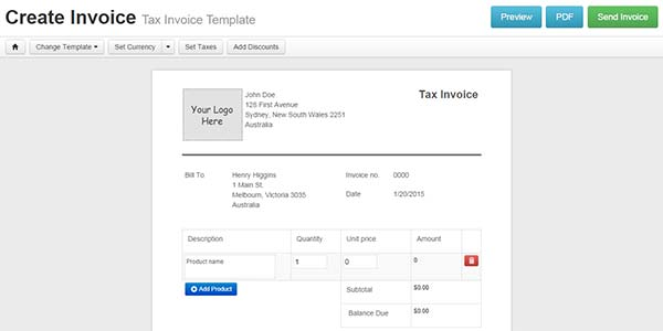 Are You In A Hurry Learn How To Create Free Online Invoices On The