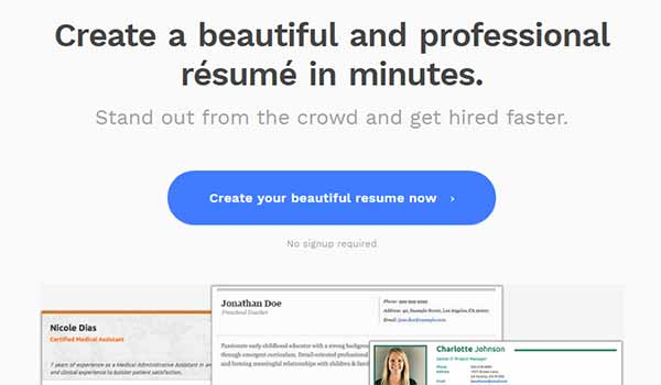 10 Best Online Tools to Create Professional Resume