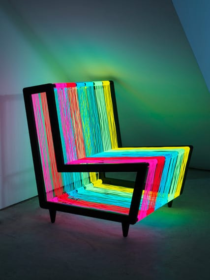Wire Sessel Cool Colorful Chair Design