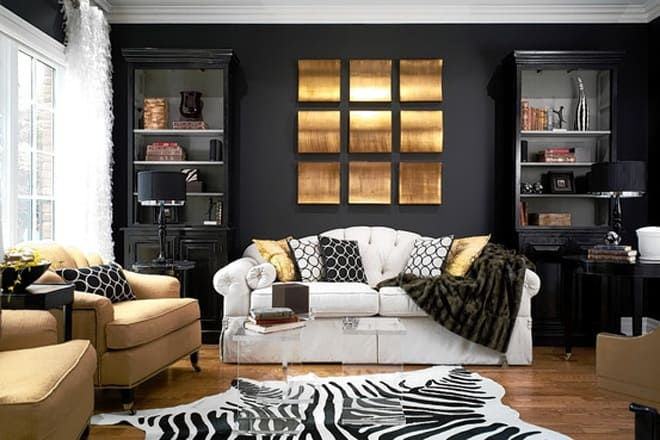 Bordeaux Wandfarbe Black Walls Without Gothic Transformations