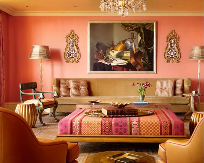 Add to Your Home Decor an Unique Touch! Moroccan Inspired Living - moroccan style living room