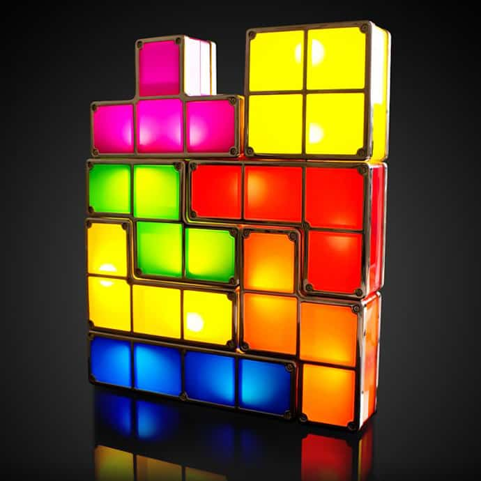 Tetris Lamp Combine Your Lamps Into Any Tetris Like Structure