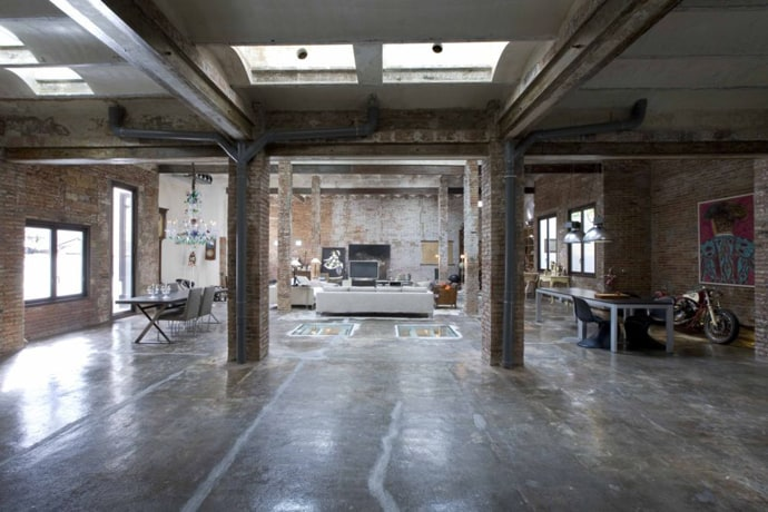 Industrial Loft From An Old Printing Press By Minim, Barcelona