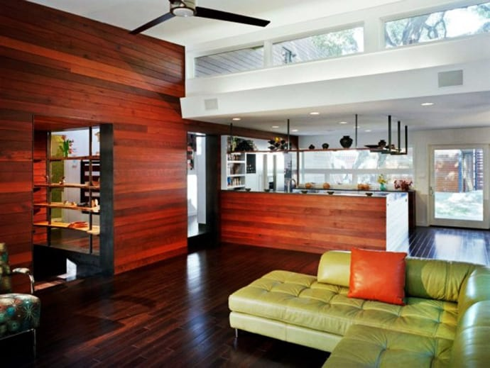 Top 35 Striking Wooden Walls Covering Ideas That Warm Home Instantly - wood wall living room