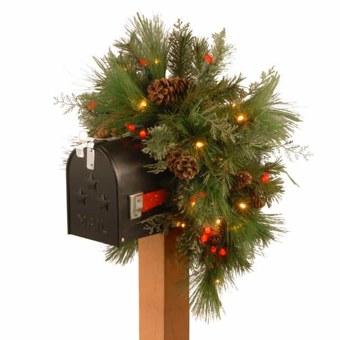 Christmas Decorations Living Room 30 Ideas To Dress Up Your Mailbox In A Fairy Tale Look For