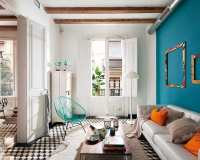 Barcelona Style: Retro-modern Interior Design Project by ...